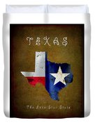 Texas ... The Lone Star State Duvet Cover