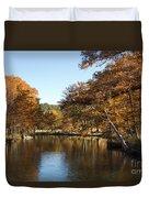 Texas Autumn Duvet Cover