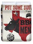 Texas Barbecue 4 Duvet Cover