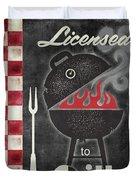 Texas Barbecue I Duvet Cover