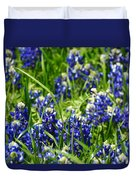 Texas Bluebonnets 002 Duvet Cover