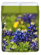 Texas Bluebonnets 006 Duvet Cover