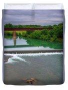 Texas Bridge Duvet Cover