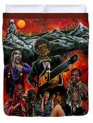 Texas Chainsaw Massacre 2 Duvet Cover