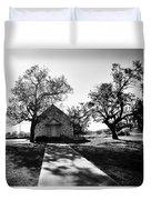 Texas Country Church Duvet Cover