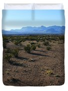 Texas Desert Duvet Cover