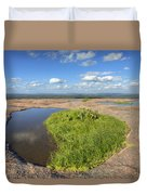 Texas Hill Country Enchanted Rock Zen Pools 2 Duvet Cover