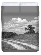 Texas Hill Country Trail Duvet Cover