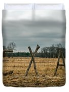 Texas In Tree Branches Duvet Cover