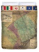 Texas Revolution Duvet Cover