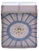 Texas State Capitol - Courtyard Floor Duvet Cover