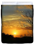 Texas Sun Duvet Cover