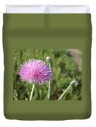 Texas Thistle Duvet Cover
