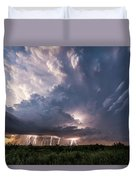 Texas Twilight Duvet Cover