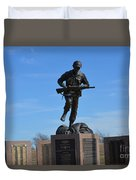 Texas War Memorial Duvet Cover