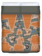 Textured Abstract # 2060ew4dt Duvet Cover