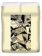 Textured Angles Duvet Cover