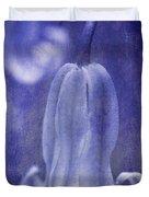 Textured Bluebell In Blue Duvet Cover
