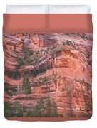 Textures Of Zion Duvet Cover
