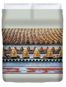 Thai Temple Roof Duvet Cover