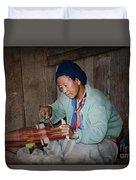 Thai Weaving Tradition Duvet Cover