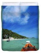 Thailand Boat Duvet Cover