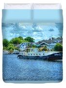 Thames Tug Boat Duvet Cover
