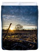 Thanksgiving Sunrise Duvet Cover
