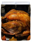 Thanksgiving Turkey For Us Military Servicemen Duvet Cover