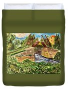 The Langloise Bridge Duvet Cover