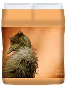 That Shy Come-hither Stare Duvet Cover