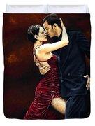That Tango Moment Duvet Cover