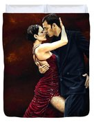 That Tango Moment Duvet Cover