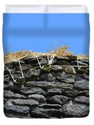 Thatched Cottage Gable Duvet Cover