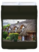 Thatched Cottages In Chawton 2 Duvet Cover