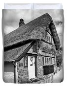 Thatched Cottages In Chawton 5 Duvet Cover