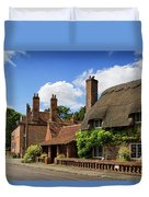 Thatched Cottages In Chawton 6 Duvet Cover