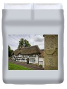 Thatched Cottages Of Hampshire 12 Duvet Cover
