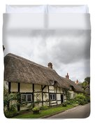 Thatched Cottages Of Hampshire 14 Duvet Cover