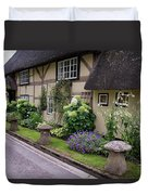 Thatched Cottages Of Hampshire 24 Duvet Cover