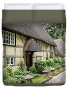 Thatched Cottages Of Hampshire 25 Duvet Cover