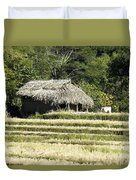 Thatched Shelter Duvet Cover