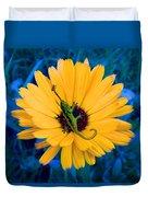 Imaginary Flower Duvet Cover