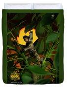 The 1-18 Animal Rescue Team - Cat In Jungle Duvet Cover