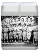 The 1911 New York Giants Baseball Team Duvet Cover