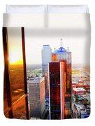 The 48th Floor Duvet Cover