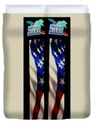 The Fourth At The Speedway Duvet Cover