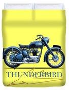 The 52 Thunderbird Duvet Cover