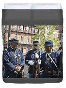 The 54th Regiment Bos2015_185 Duvet Cover