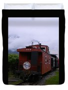 The 909 Caboose Duvet Cover